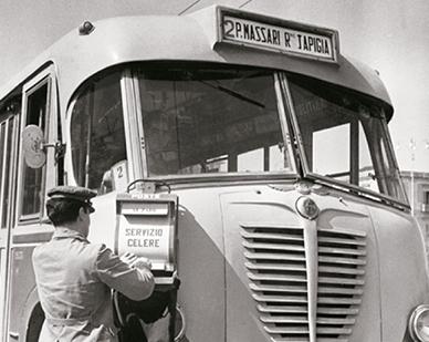 Cassette di impostazione su autobus